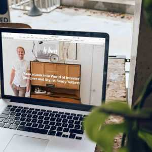 Ecommerce design 1 home page mock up